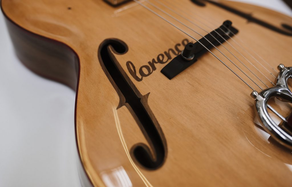 Florence acoustic guitar